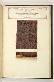No. 594: Shawl patterns.