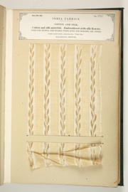 No. 292: Cotton and silk.