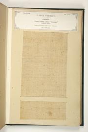 No. 306: Cotton.